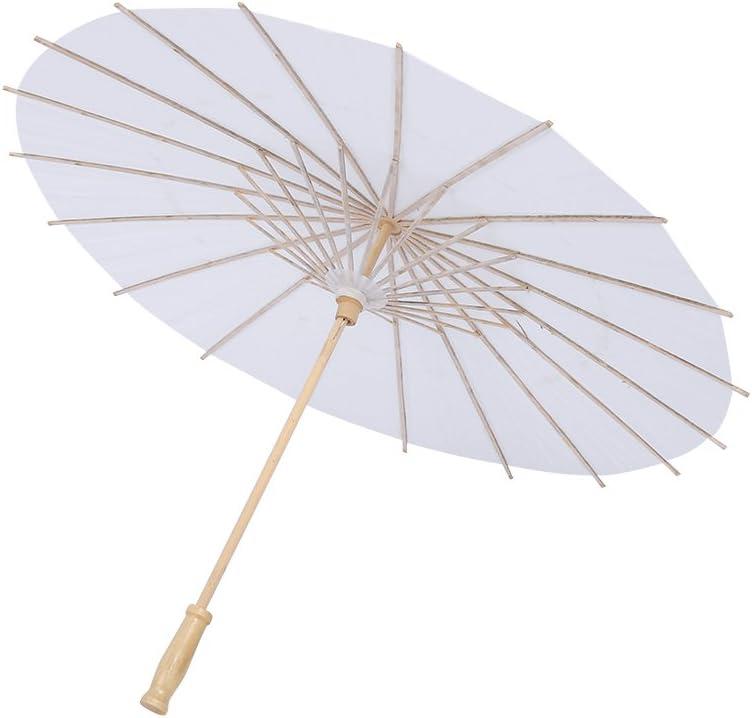 20cm Costumi Ombrello di Carta Cinese//Giapponese per Matrimoni Decorazione e bricolage bomboniere Servizi fotografici FTVOGUE Ombrello di Carta Festa Nuziale Damigelle dOnore Cosplay