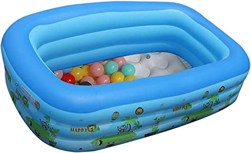 Zhongxingenggeng Conveniente Piscina Inflable Piscina for niños Piscina for Adultos Cojín de Aire Piscina Cubierta for Nadar en casa (Size : 305x180x60 cm): Amazon.es: Hogar