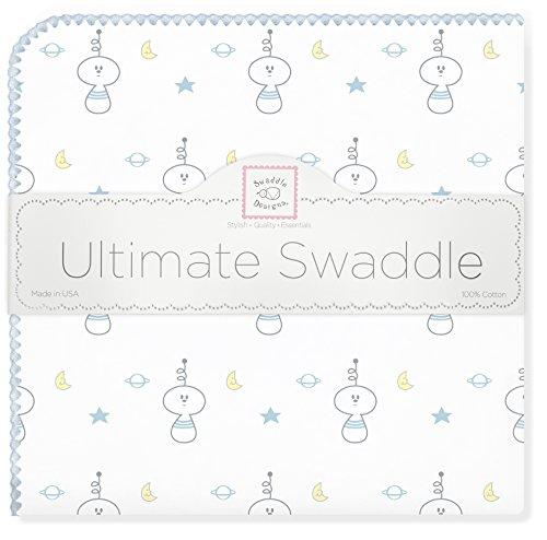 SwaddleDesigns Ultimate Swaddle Blanket Spaceman