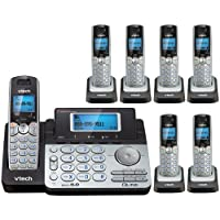 Vtech DS6151 Base with 6 Additional DS6101 Cordless Handsets Bundle