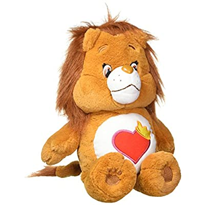 Care Bears Brave Heart Medium Lion Plush: Toys & Games