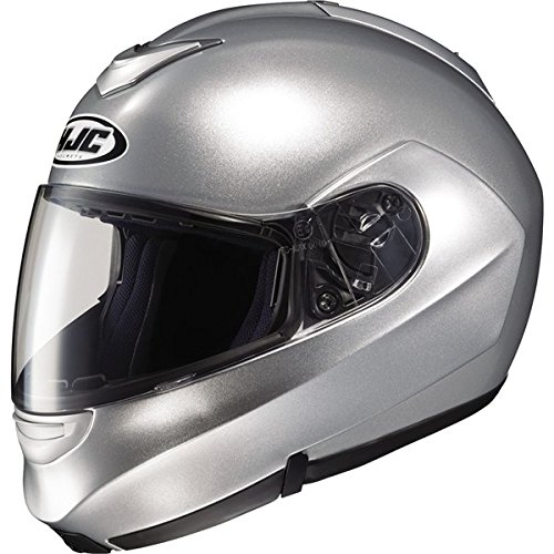 HJC SY-MAX 2 SYMAX2 FLIP-UP LT. SILVER SIZE:XSM Motorcycle Full-Face-Helmet (Symax 2 Helmet)