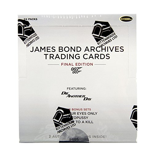 2017 James Bond Archives 007 Final Edition Trading Cards Box -