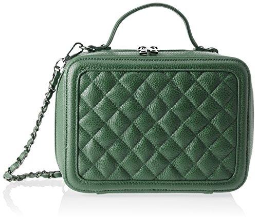 Chicca Borse 8891 - Bolso de hombro Mujer Verde (Verde Verde)