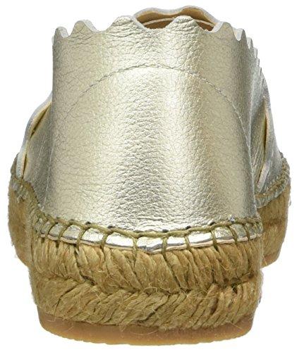Donna Platino Basse Metal Macarena Teide Espadrillas Gold vfBq7I