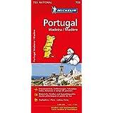 Michelin Portugal Madeira: Straßen- und Tourismuskarte (MICHELIN Nationalkarten)