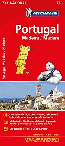 Michelin Portugal Madeira: Straßen- und Tourismuskarte (MICHELIN Nationalkarten, Band 733) Landkarte – 2. März 2017 2067218891 Karten / Stadtpläne / Europa Madeira / Landkarte Atlas