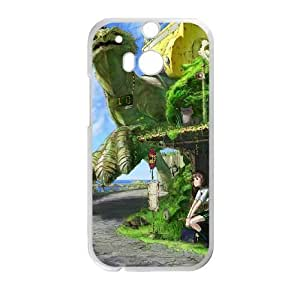 HD exquisite image for HTC One M8 Cell Phone Case White turtle bus station Popular Anime image WUP8107289