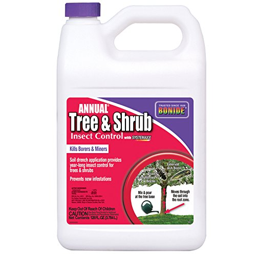 - Bonide 611 Annual Tree and Shrub Insect Control, 128 Fl oz(1 Gallon)