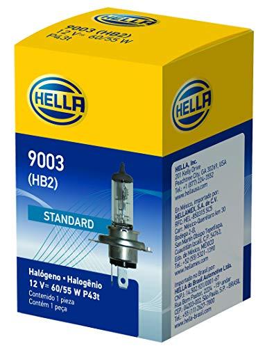 HELLA 9003 Standard Halogen Bulb, 12 V, (Standard Halogen Bulb)