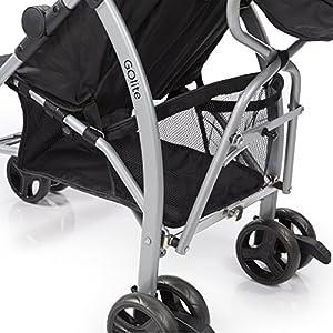 Summer Infant GOlite Convenience Stroller, Black Jack