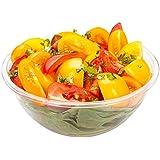 Cold Salad Bowl - PET Plastic Salad Bowl - Clear - 7.4 oz - Durable & Recyclable - 200ct Box - Restaurantware