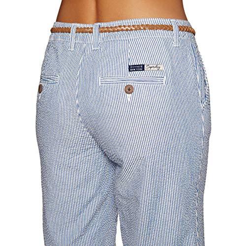 Blue White Chino K2o City Shorts Superdry seersucker Blu qUwPPY