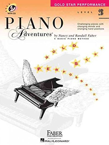Download Level 2B - Gold Star Performance with audio: Piano Adventures pdf epub