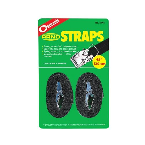Coghlans Arno Straps - Black, 48 Inch by Coghlans