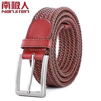 Amoureux boucle de ceinture broche en tricot de peau de vache ceinture ceinture de jeans