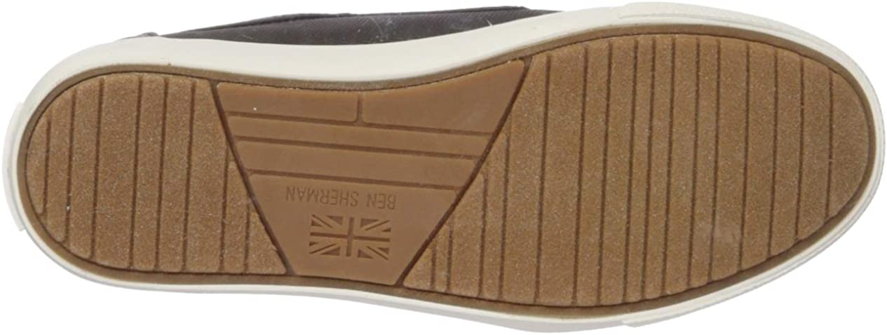 Ben Sherman Unisex-Child Jayme Wingtip Sneaker