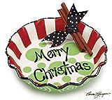 Merry Christmas Pie Plate
