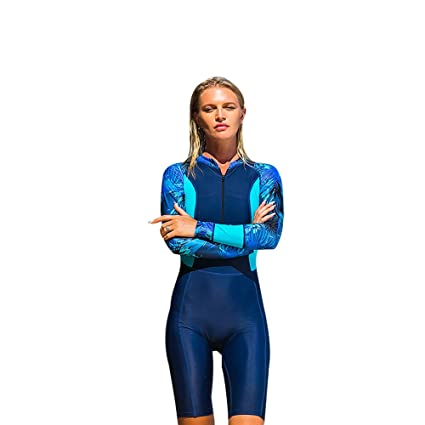 3a78f442b1 TZ TED Full Wetsuit Lycra UV Protection Back Zip Diving Surfing Snorkeling  Swimming Suit Keep Warm