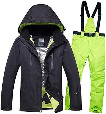 SZXJY Traje de esquí,Traje de esquí para Mujer Impermeable A ...