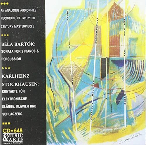 Béla Bartók: Sonata for 2 Pianos & Percussion / Karlheinz Stockhausen: Kontakte (Bela Bartok Sonata For Two Pianos And Percussion)