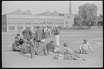 Amazon com: HistoricalFindings Photo: Baseball Game,Atlanta