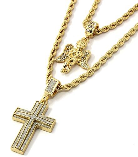 Piece Angel Cross Pendant D221 product image