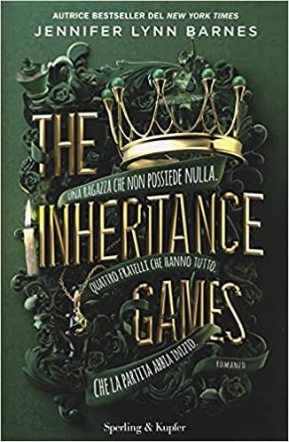 cover libro The Inheritance Games
