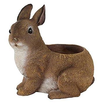 Rabbit Flower Pot DecorationGift Item Garden Planter Home Decor
