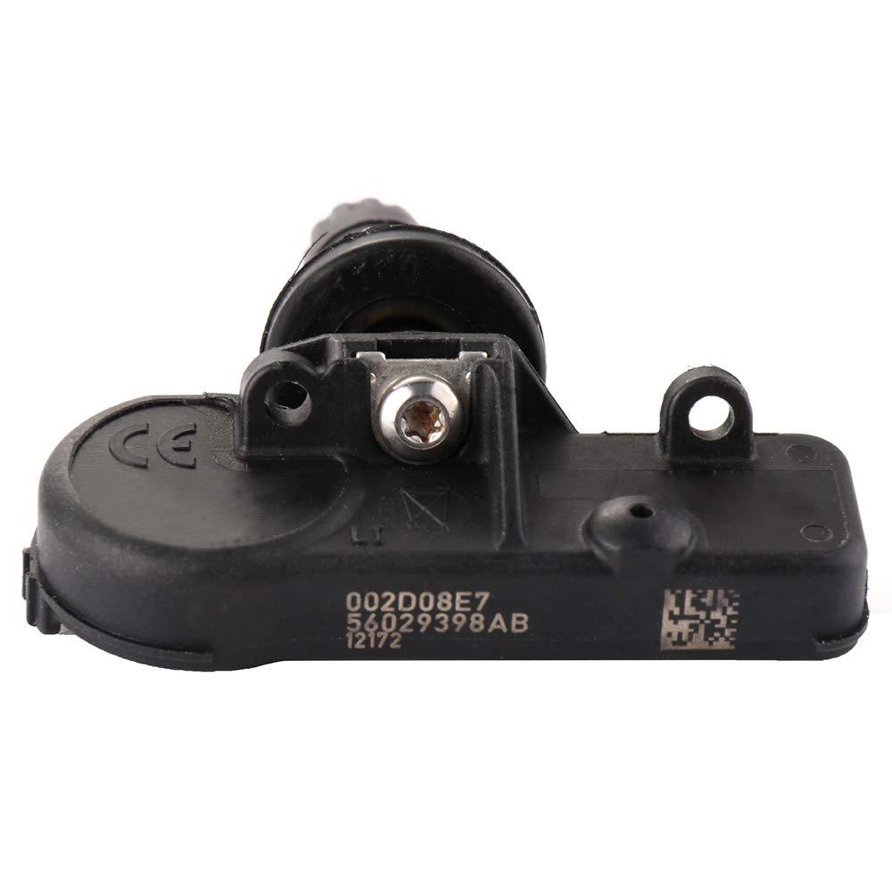 OCPTY Programmed Tire Pressure Sensor TPMS for Selsct Chrysler Dodge Fiat Jeep Ram 433MHz 56029398AA