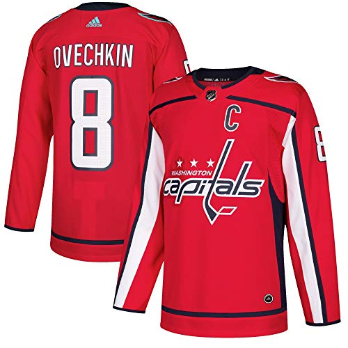 Jersey Authentic (adidas Alex Ovechkin Washington Capitals NHL Men's Authentic Red Hockey Jersey)