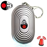 Personal Alarm Keychain – Self Defense & Safesound Security Emergency – Essential Protection and Safety Device for Women Kids and The Elderly – Super Loud 130dB Panic Siren Extra Benefits