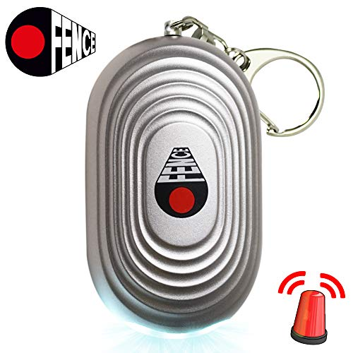 Personal Alarm Keychain - Self Defense and Safesound Security Emergency - Essential Protection and Safety Device for Women, Kids, and The Elderly - Super Loud 130dB Panic Siren Extra Benefits ()