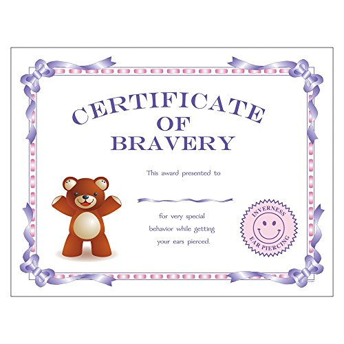 Gift Certificate Jewelry - Top 10 Jewelry Gift Inverness Package of 25 Certificates of Bravery