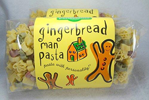 Gingerbread Man Pasta
