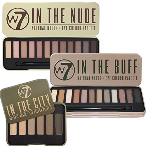 W7 Shadow Palette Collection Natural product image