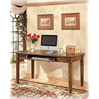 Traditional Medium Brown Hamlyn Home Office Large Desk