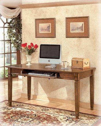 Traditional Medium Brown Hamlyn Home Office Large Desk