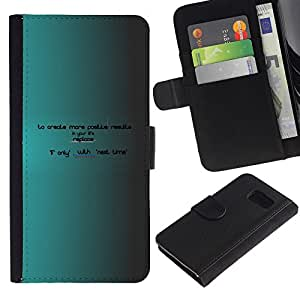 EJOY---Tirón de la caja Cartera de cuero con ranuras para tarjetas / Sony Xperia Z3 Compact / --Crear más ahora hay próxima vez