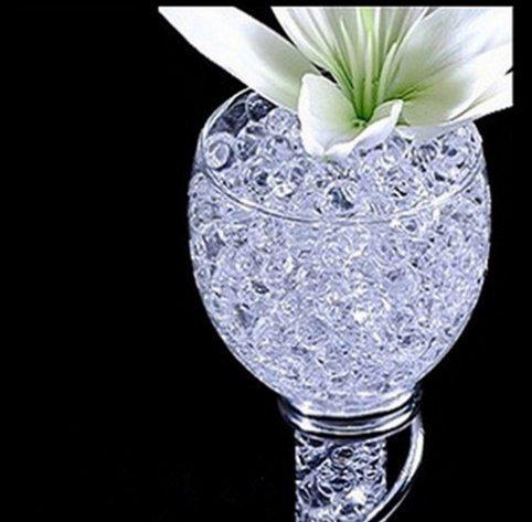 Wady 10/packs clair Perles deau bio gel/ée effet cristal d/écoration mariage vase