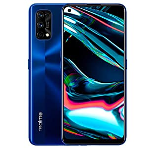 "realme 7 Pro, Display Super AMOLED 6.4"", Processore Otto - Core Snapdragon 720G, 8 GB RAM + 128 GB ROM, Fotocamera Quadrupla Sony da 64 MP + Fotocamera Selfie 32 MP, Blu 7"