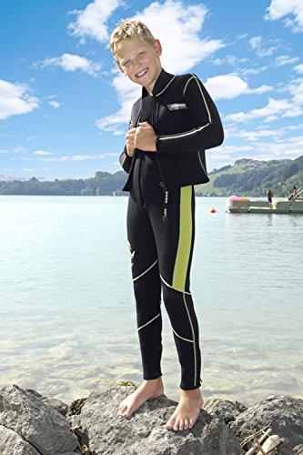 Camaro Farmer John Junior Wetsuits, Black, X-Large by Camaro (Image #2)