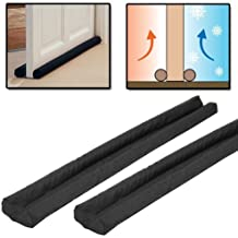 2 x Twin Draught Excluder Cold Air Draft Guard For Doors Window Bottom Insulator Shopmonk by zizzi