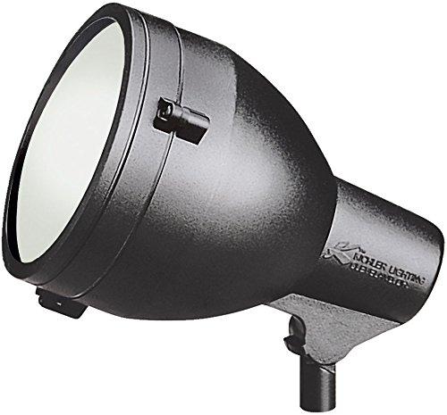 Kichler 15251BKT, HID High Intensity Discharge Landscape Accent Lighting Fluorescent, Black