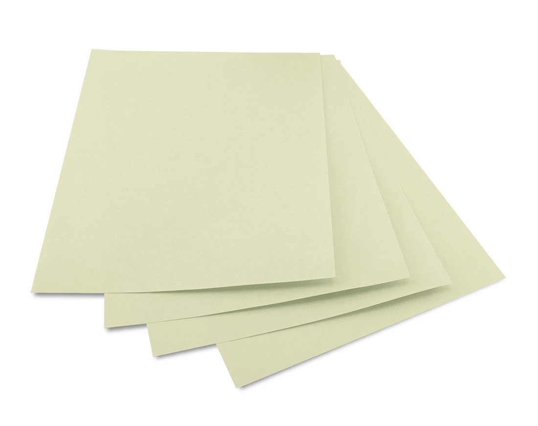 Hygloss 92354 Products Craft Parchment Paper Sheets, Printer Friendly, Made in USA, 8-1/2 x 11, 500 Sheets, Sage by Hygloss