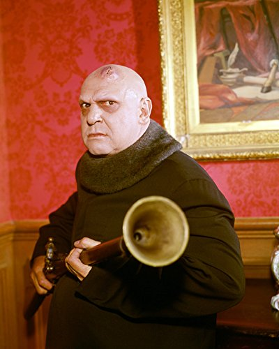 Jackie Coogan The Addams Family Great Portrait As Uncle Fester 16x20 -