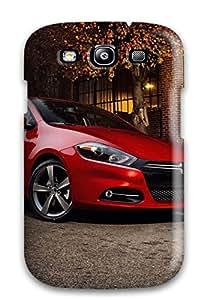 PRdnmVr27366uEaoJ Case Cover Dodge Dart Red Car Galaxy S3 Protective Case