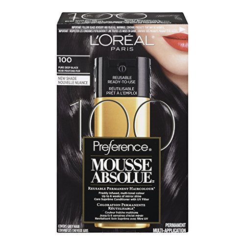 L'Oreal Paris Superior Preference Mousse Absolue, 100 Pure Deep Black