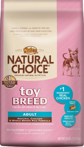 Natural Choice Dog Toy Breed Adult Dog Food, 4-Pound, My Pet Supplies