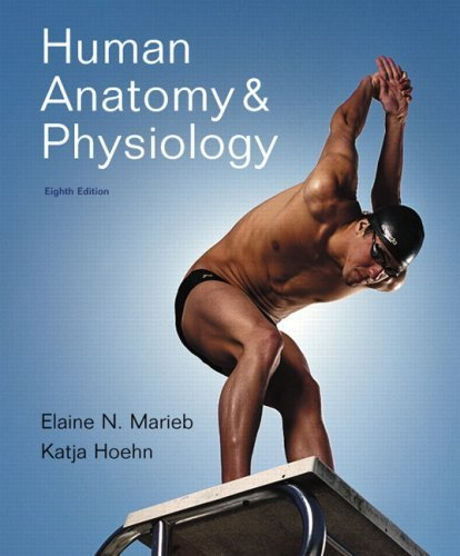 Human Anatomy & Physiology with MasteringA&P (8th Edition) 8th edition by Marieb, Elaine N.; Hoehn, Katja N. published by Benjamin Cummings Hardcover